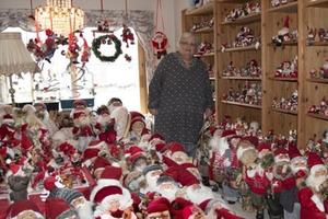 Na Uy: Một phụ nữ luôn đón Giáng sinh với hơn 2.000 'ông già Noel'