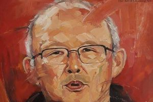 Tranh vẽ HLV Park Hang-seo sẽ được bán đấu giá với mục đích từ thiện