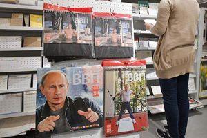 Ông Putin thành 'hiện tượng ảnh lịch' ở Nhật Bản