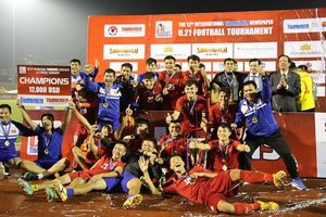 U21 Việt Nam vô địch U21 quốc tế sau loạt luân lưu nghẹt thở