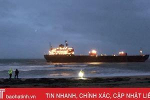 Tàu hàng Nga mắc cạn ngoài khơi phía Tây Nam nước Anh