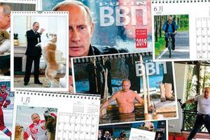 Lịch hình ông Putin gây sốt, vượt qua hàng loạt sao Nhật Bản
