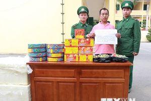 Quảng Ninh: Bắt đối tượng người nước ngoài vận chuyển pháo lậu