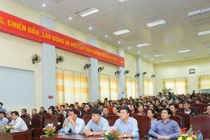 Hàng ngàn hộ dân Văn Giang hồ hởi nhận đất dịch vụ