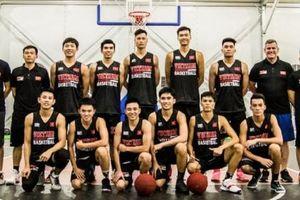 Dàn cầu thủ U20 tài năng của bóng rổ Việt Nam đã sẵn sàng tham dự giải giao hữu FIBA