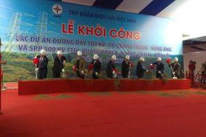 Phó Thủ tướng Trịnh Đình Dũng phát lệnh khởi công đường dây 500 kV mạch 3