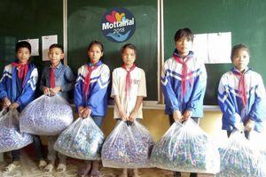 Mottainai 2018 gửi tặng chăn và áo ấm cho học sinh khó khăn ở Yên Bái