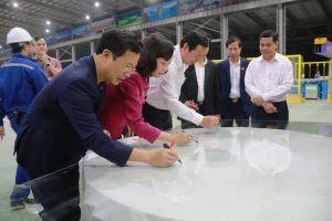Nhà máy kính tiết kiệm năng lượng chất lượng cao CFG Ninh Bình: Nhà máy kính nổi hàng đầu Việt Nam