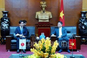 Việt Nam mong muốn tăng cường hợp tác nhiều mặt với Nhật Bản
