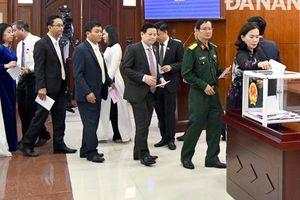 Chủ tịch Đà Nẵng nhận hai phiếu tín nhiệm thấp