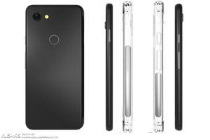 Vỏ điện thoại Google Pixel 3 Lite bất ngờ lộ diện