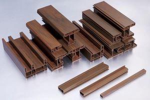 Việt Nam đã sản xuất được thanh Proflie uPVC màu và vân gỗ