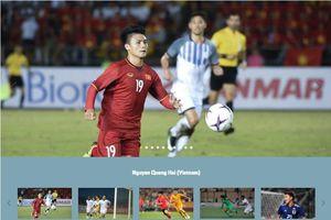 Trang chủ AFC xếp Quang Hải đứng đầu top 10 ngôi sao trẻ tại Asian Cup 2019