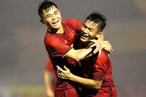 Đánh bại U21 Myanmar trên chấm luân lưu, U21 Việt Nam vô địch U21 Quốc tế 2018