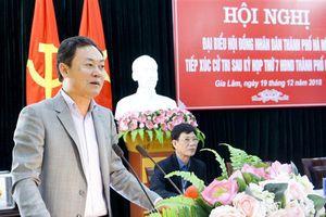 Cử tri huyện Gia Lâm tiếp tục kiến nghị các vấn đề dân sinh
