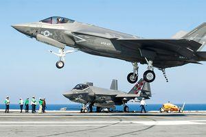 Tàu sân bay Mỹ đủ tiêu chuẩn vận hành F-35C