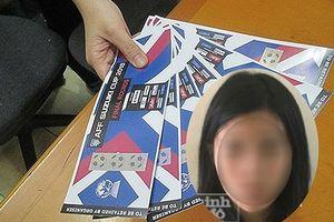 'Nữ quái' 22 tuổi cầm đầu đường dây bán vé giả chung kết AFF Cup