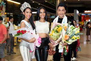 Trương Hằng trở về Việt Nam sau khi đăng quang Hoa hậu Việt Nam Quốc tế 2018