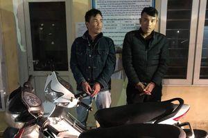 Bắt 2 kẻ táo tợn trộm xe tại Ngân hàng Vietcombank