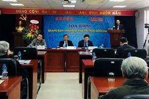 Trưng bày nhiều hiện vật, tác phẩm của nhà báo Quang Đạm