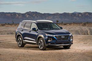 Hyundai giới thiệu công nghệ nhận diện vân tay trên xe Santa Fe