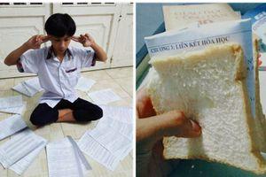 Bánh mỳ nhân 'đề cương' và hàng loạt chiêu trò ôn thi không thể tưởng tượng nổi của học sinh, sinh viên