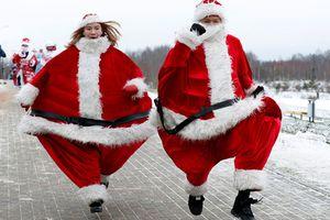 Không khí Giáng sinh rộn ràng tràn ngập khắp thế giới