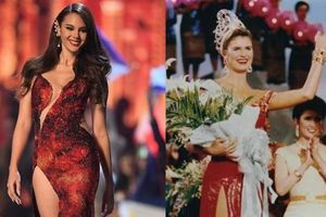 Công thức rút ra từ Miss Universe 2018 - Catriona Gray: Cứ mặc váy đỏ, auto thắng!