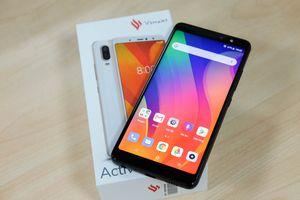 Trên tay chiếc smartphone thương hiệu Việt Vsmart Active 1