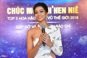 H'Hen Niê lọt top 5 Hoa hậu Hoàn vũ 2018 và những câu nói truyền cảm hứng