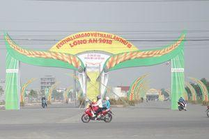 Khai mạc Festival Lúa gạo và công bố Logo thương hiệu gạo Việt Nam