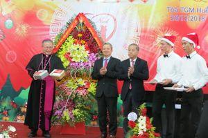 Thừa Thiên - Huế: Chúc mừng Lễ Giáng sinh Tổng Giáo phận Huế