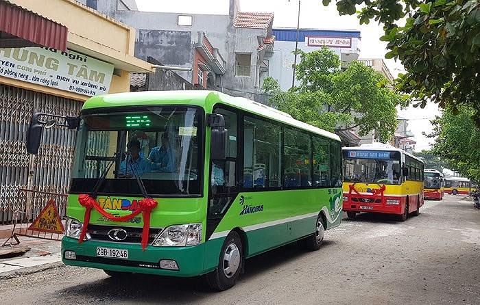 Mini buýt phù hợp đường phố nhỏ Hà Nội và TP.HCM