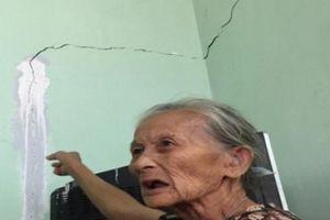 Quảng Ngãi: Xây trụ sở làm nứt nhà dân, đền bù 'giá bèo'
