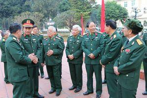 Đảng ủy, Bộ tư lệnh Quân khu 2 gặp mặt các đồng chí cán bộ cao cấp quân đội đã nghỉ hưu, nghỉ công tác trên địa bàn