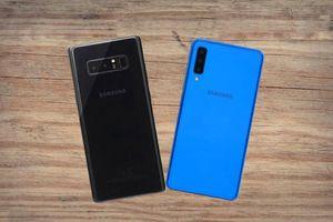 Mua Galaxy Note 8 cũ hay A7 2018 trong phân khúc dưới 9 triệu?