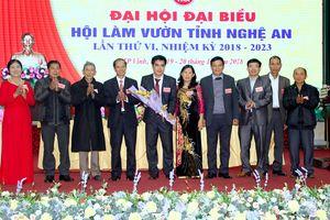 Nghệ An có tân Chủ tịch Hội Làm vườn tỉnh