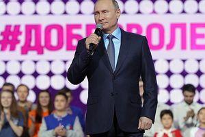 Tổng thống Vladimir Putin tổ chức họp báo thường niên