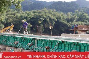 Hương Sơn đạt 2.439 tỷ đồng giá trị sản xuất công nghiệp - xây dựng