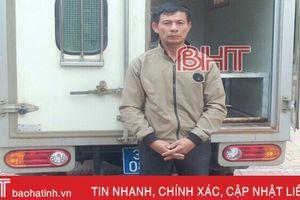 Công an Hương Khê bắt đối tượng truy nã sau 1 năm lẩn trốn