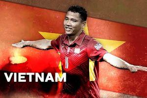 Không thi đấu, Anh Đức vẫn được BTC Asian Cup chọn làm gương mặt đại diện Việt Nam