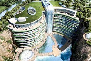Trung Quốc: Khách sạn 5 sao dưới lòng đất