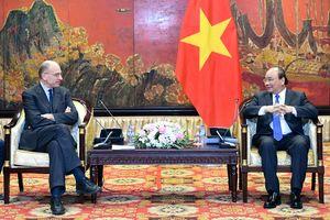 Thủ tướng tiếp Chủ tịch Hiệp hội Italy – ASEAN