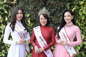 Top 3 Mrs Vietnam 2018 sẽ tham dự 3 cuộc thi Hoa hậu Quý bà quốc tế