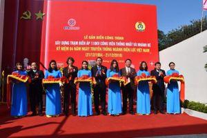 EVN HANOI gắn biển Trạm biến áp 110kV Công viên Thống Nhất và nhánh rẽ