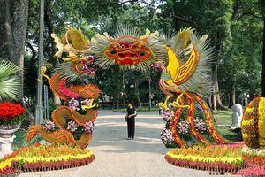 Trưng bày sinh vật cảnh Thủ đô chào xuân Kỷ Hợi tại Công viên Bách Thảo, Hà Nội