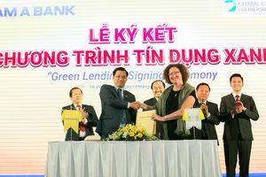 Nam A Bank và GCPF hợp tác triển khai chương trình 'Tín dụng xanh'