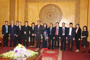 Đoàn đại biểu cấp cao Đảng Cộng sản Nhật Bản thăm, làm việc tại Ninh Bình