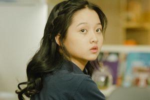 Sao nhí Lâm Thanh Mỹ ngượng ngùng lần đầu đóng phim tình cảm