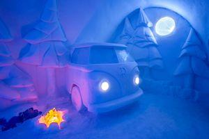 Khám phá khách sạn băng độc đáo ở Lapland (Thụy Điển)